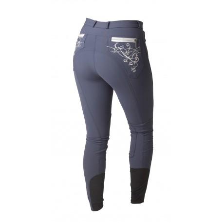 Pantalon Femme Montar - Bamboo - Fond de peau - Bleu - Taille 44