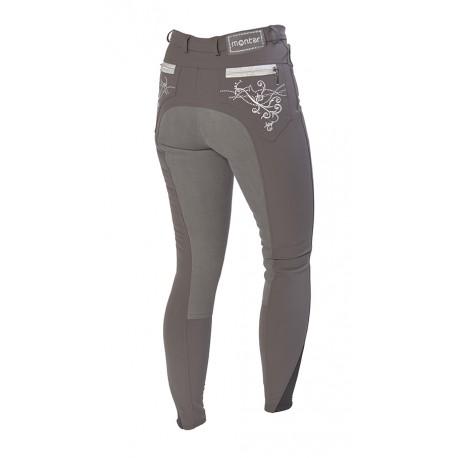 Pantalon Femme Montar - Bamboo - Fond de peau - Gris 44FR